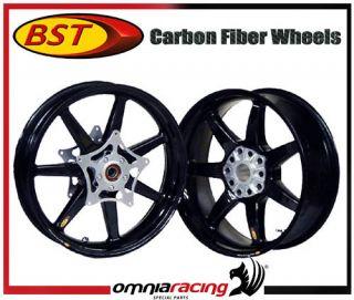BST Carbon Fiber 5 Spoke Wheels Rims BMW R1200 All