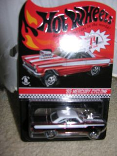 2012 Hot Wheels Club Special Edition 65 Mercury Comet Cyclone 03000