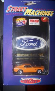 RARE 1970 Mustang Boss 429 Hot Wheels Hot Rod 1 64 E