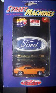 RARE 1970 Mustang Boss 429 Hot Wheels Hot Rod 1 64 E
