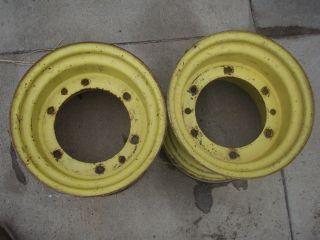 John Deere Rear Wheels 400 Garden Tractor Had 26x12x12 Tires