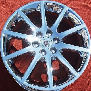 of 4 New 18 19 Cadillac STS V Factory Chrome Wheels Rims 4595