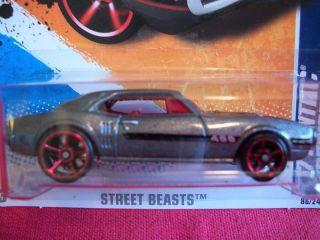 Hot Wheels 67 Pontiac Firebird 400 Street Beasts 86 244