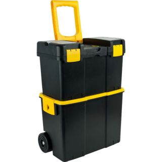 Stackable Mobile Tool Box w Wheels by Trademark Tools