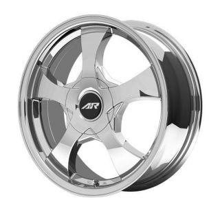 RACING CHROME AR895 5X105 CHEVROLET CRUZE CHEVY VOLT WHEELS RIMS