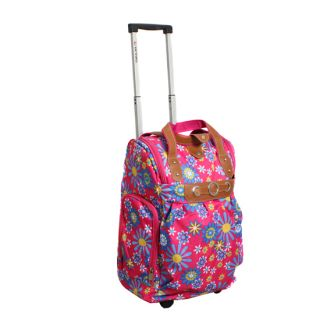 18 Travel carry on suitcase Tote/Rolling Wheels Bag $59.99 Sunflower