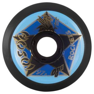OJ2 Christian Hosoi Rockets Skateboard Wheels 61mm 97A Black