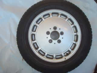 Mercedes W124 Spare Alloy Wheel Rim Tire 1244010702 6 5JX15H2 195 65