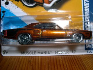 Hotwheels 2012 Super Treasure Hunt 69 Dodge Coronet Super Bee