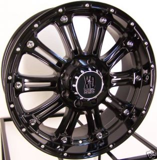 20x9 XD Hoss Wheels Rims 07 Up Toyota Tundra Sequoia