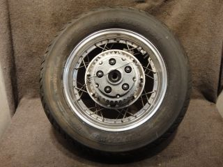 86 87 Honda CMX450 CMX 450 Rebel Wheel Rear Rim Tire D91