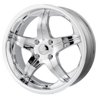 20 inch MPW MP107 Chrome Wheels Rims 5x4 5 galant Lancer Endeavor