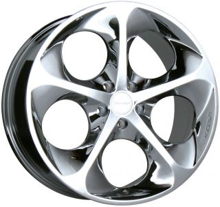 18 Chrome Wheels Rims Audi TT Toyota Matrix Celica VW Jetta Golf