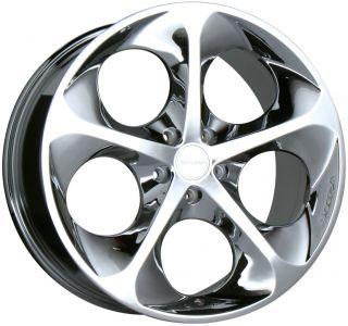 18 Chrome Wheels Rims Audi TT Toyota Matrix Celica VW Jetta Golf