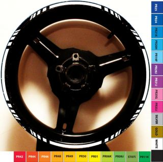 Rim Stripe Wheel Decal Tape Suzuki GSX Katana 600 750 R