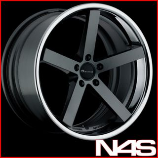 E63 E64 M6 Giovanna Lightweight Mecca Black Concave Wheels Rims