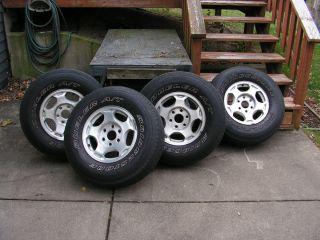 2004 Chevy Silverado 16 Stock Tires and Wheels