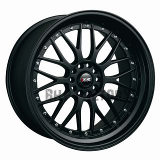4x114 3 4x100 Flat Black Tuner BBs Alloys Rims Wheels Z1562
