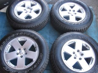 18 Jeep Wrangler Rubicon Sahara Sport Wheels Rims Tires