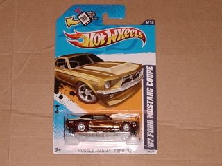 Hot Wheels 67 Ford Mustang Coupe Super Treasure Hunt