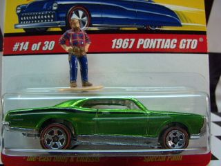Hot Wheels Classics Series 1967 Pontiac GTO Mint in Box 1 64 Scale
