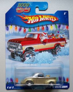 1941 Willys Coupe 2009 Holiday Rods Hot Wheels 1 64 Diecast Car