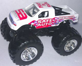 INSURANCE CUSTOM MADE MONSTER JAM TRUCK HOT WHEELS 1 64 SWEET TRUCK
