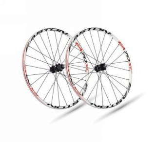 2011 Easton EA70 XC 26 Mountain Bike Wheels White Rims