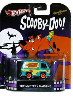 HOT WHEELS Scooby Doo The Mystery Machine 2013 Retro Series 1 64 scale