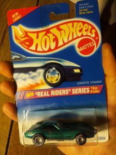 1995 Hot Wheels Real Riders Series Chevy Corvette Stingray