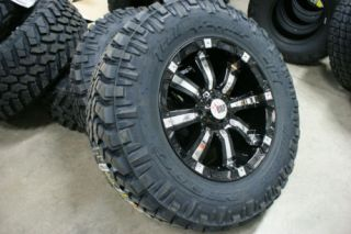 285 65 18 RBP Wheels Nitto Trail Rim Tire Package 33
