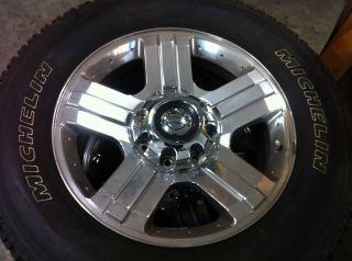 20 Harley Davidson Rims Michelin Tires 275 65 20 Brand New Tires