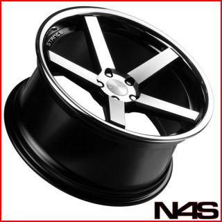 745 750 Stance SC 5IVE Machined Concave Staggered Wheels Rims