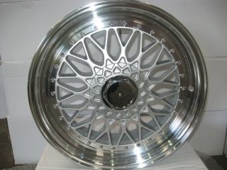 HONDA CIVIC BBS 17 INCH ALLOY WHEELS RIMS 17X8 5 H PCD 4X100 108 ET 35
