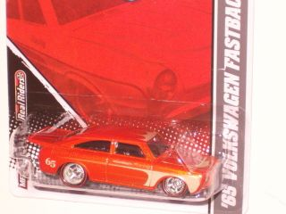 2011 Hot Wheels Garage Series 65 Volkswagen Fastback Orange VW Real