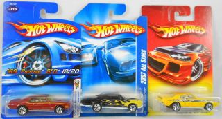 Hot Wheels Pontiac GTO 67 Realistix 2007 All Stars and 69 Judge Die