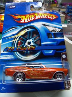 Hot Wheels Carded Limited Edition 06 Mystery Car 70 Chevy Chevelle