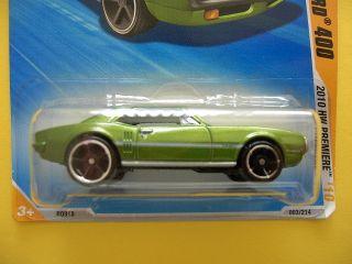 2010 Premiere Hot Wheels 67 Pontiac Firebird 4 3 214