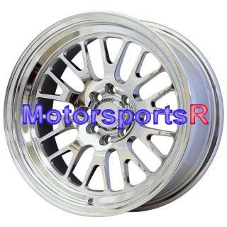 16 16x8 XXR 531 Platinum Rims Wheels Deep Dish Lip Stance 4x100 03 06