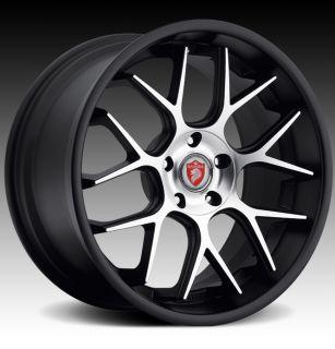 20 Bavaria BC7M Wheels Black BMW 7 Series 740 745 750 760 B7 E38 E65