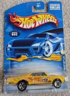 Hot Wheels Flower Power 67 Pontiac GTO
