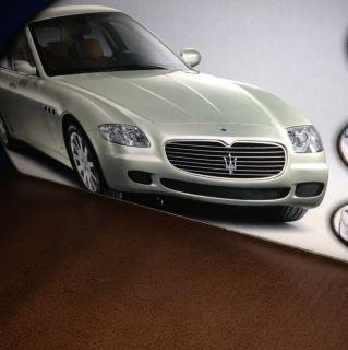18 Hot Wheels Maserati Quattroporte Blue