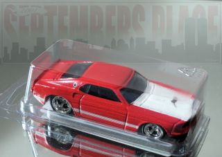 Hot Wheels Larrys Garage 69 Ford Mustang Red Chase LWR