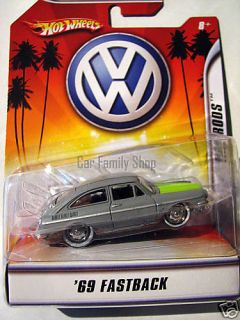 Hot Wheels Volkswagen 69 Fastback Concept New in Box