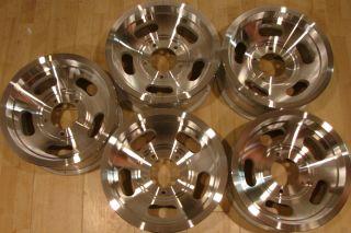 70s 15x7 Aluminum Wheels Rims 5 Lug 5x5 5 E150 F150 F100 D100 D150