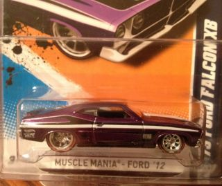 2012 Hot Wheels Secret Super Hidden Treasure Hunt 73 Ford Falcon XB