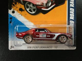 Hot Wheels 70 Camaro Road Race Super Treasure Hunt