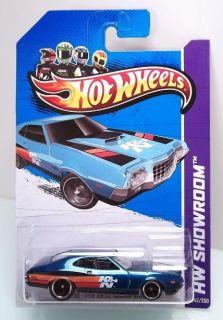 2013 Hot Wheels 72 Ford Gran Torino Sport Super Treasure Hunt
