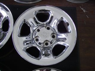 Dodge RAM 1500 Truck 17x8 Factory 5 Lug Chrome Wheel Rim 2162