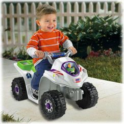 Fisher Price Power Wheels Toy Story 3 Lil Quad ATV Nu